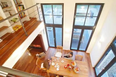 design : offene galerie wohnzimmer ~ inspirierende bilder von ... - Wohnzimmer Mit Galerie Modern