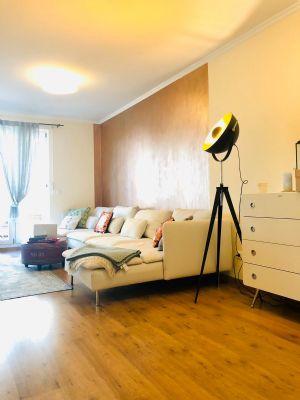 Bestlage Arnulfpark >> PROVISIONSFREI - komplett möblierte 3. Zi.-Wohnung + West-Terrasse