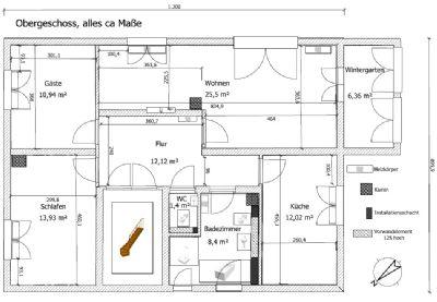 Gemütliche 3,5-Zimmer-Wohnung im ersten OG mit Wintergarten in Heusenstamm