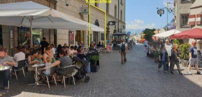Innsbruck Ladenlokale, Ladenflächen