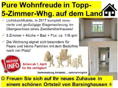 Barsinghausen Wohnungen, Barsinghausen Wohnung mieten