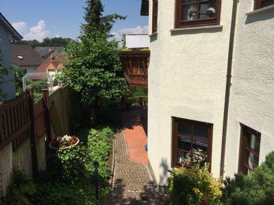 Seilicher Abgang - Garten - Terrasse