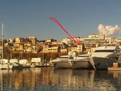 Cannes am alten Hafen und Filmfestivalpalast/nah Croissette, eine praktische helle 2-Zimmer-FEWO, W-LAN, Fahrstuhl, Parking, TV m.deutschen Programmen