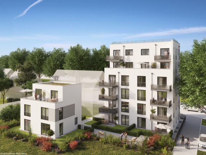 großzügiges 1-Zimmer-Apartment mit Garten - A1