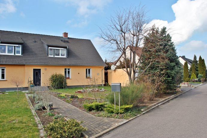 Rarität in Merseburg - Haus mit Grundstück zu verkaufen