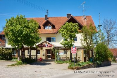 Gasthof im Ost-Allgäu mit 3 Wohnungen und großem Saal