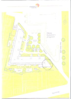 Lageplan Überbauung