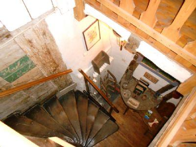 Treppenaufgang zum 2. OG