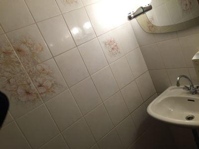 Waschplatz Damen-Toilette