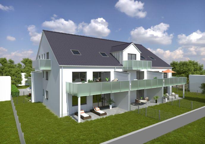 3-Zimmer-Erdgeschosswohnung mit Garten (W 4)