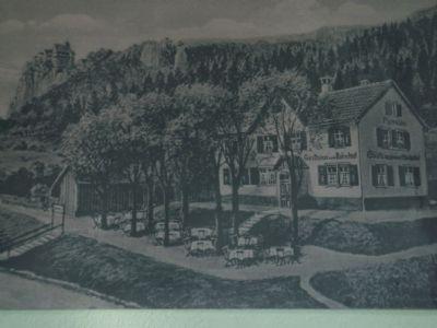 alte Ansicht um 1920