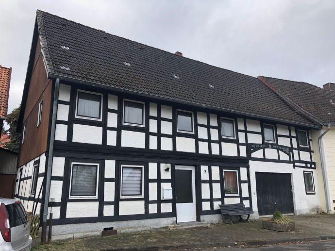 Gemütliches Fachwerkhaus in idyllischer Dorflage -