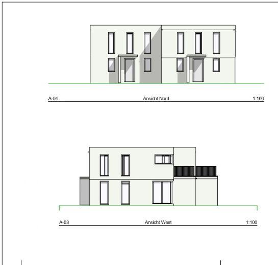 Neubau Luxus Doppelhaus in Sasel