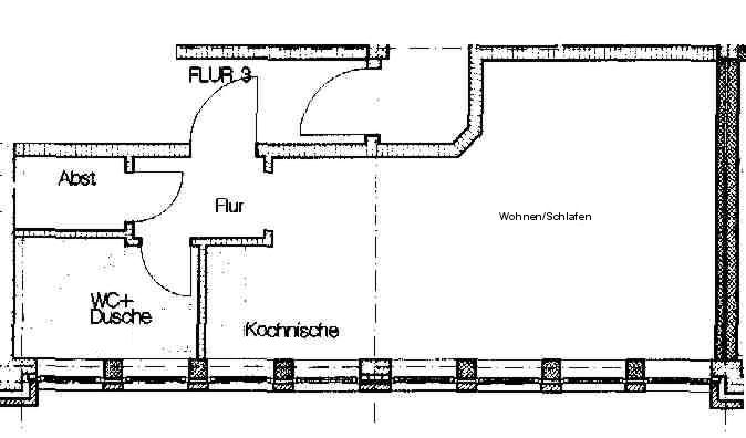 1 Zimmer-Apartment in Sulingen