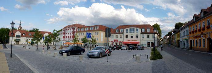 Exklusive Wohnung im Zentrum von Bad Muskau mit Schlossblick