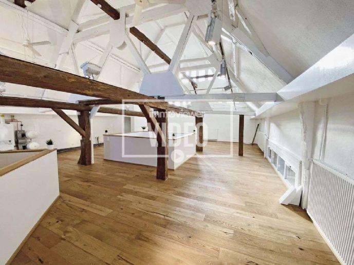 Einzigartiges offenes Wohnen in einem modernisierten Loft