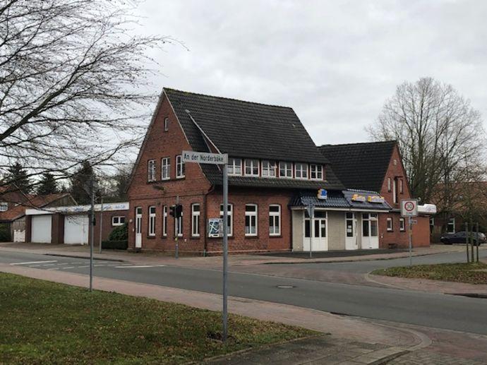 in Kürze! - Geschäftsimmobilie mit separatem Wohnhaus - Grundstück vielseitig nutzbar!