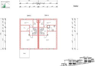 Unter-/Kellergeschoss DHH 3 und DHH 4
