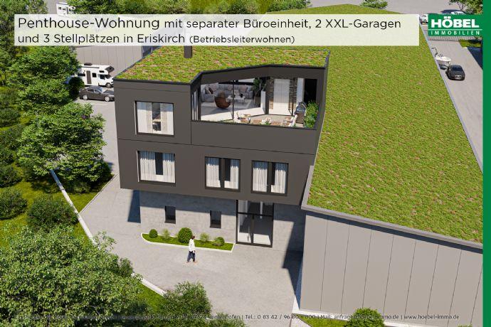 Extravagant wohnen - ideal für Gewerbe - Ausbau-Variante