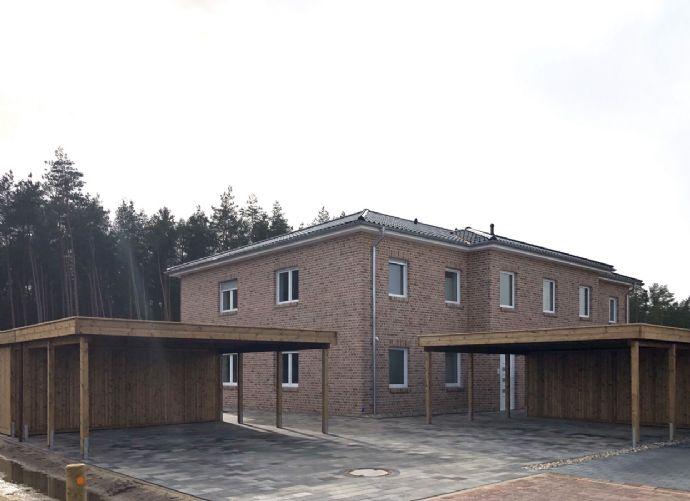 Erstbezug: 3-Zimmer-Wohnung mit Balkon und Garten