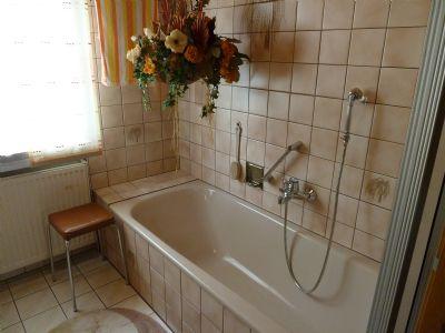 Bad EG mit Dusche u. Wanne