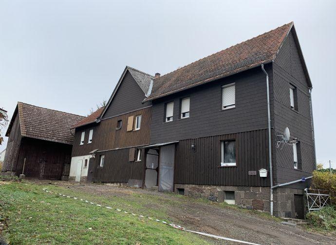 Einfamilienhaus mit Scheune und Garten in Rabenau-Kesselbach