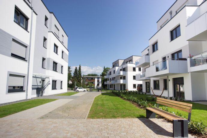 Moderne, schwellenfreie Erdgeschoss-Wohnung im Kirschenwäldchen