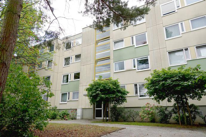Ruhige & zentral gelegene 2-Zimmer-Wohnung mit Platz + sonnigem Balkon