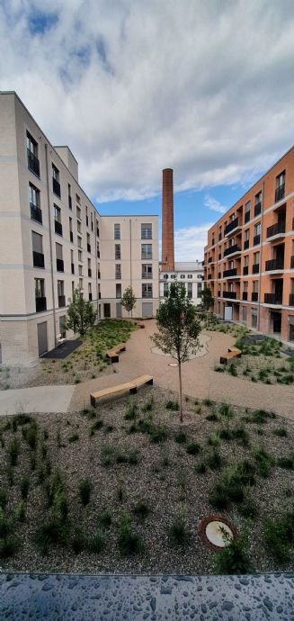 Erstbezug mit EBK: moderne und ansprechende 3-Zimmer-Wohnung im Diamaltpark