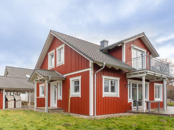 Modernes Schwedenhaus in Ostseenähe