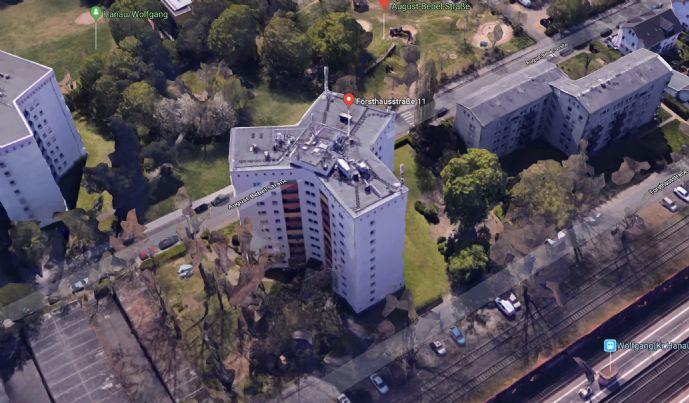 Schöne 4 Zimmer Wohnung mit Ausblick in Hanau-Wolfgang