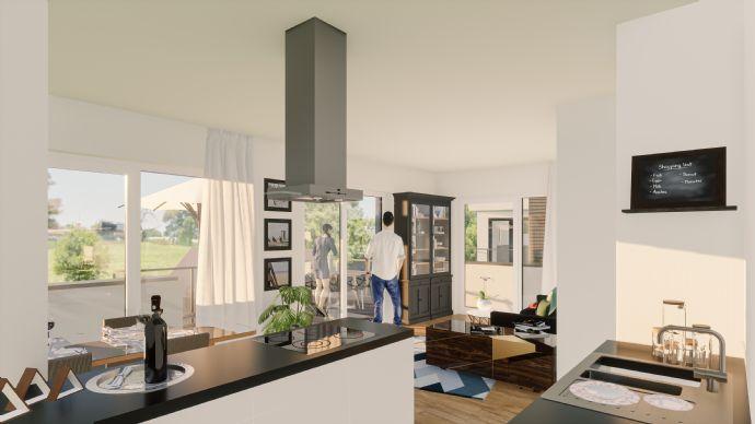 Penthouse 3-Zimmer mit Dachterrasse