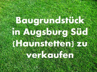 Augsburg Grundstücke, Augsburg Grundstück kaufen