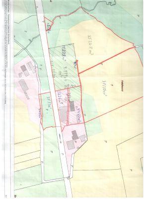 Lageplan mit 1,8 ha