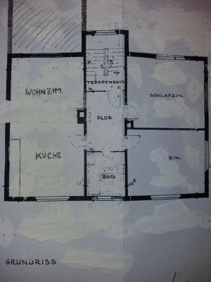 2,5-Zimmer-Wohnung mit Garten im Roßdörfer Ortskern