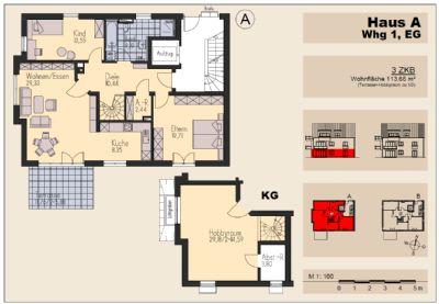 wohnanlage gartenhof in schwabm nchen zentrum etagenwohnung schwabm nchen 2m3rl49. Black Bedroom Furniture Sets. Home Design Ideas