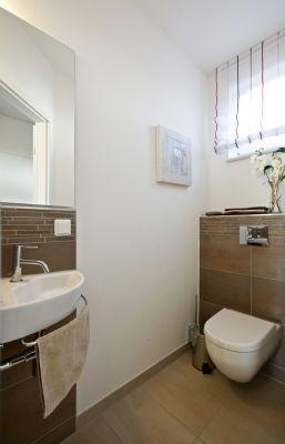 Gäste-WC Musterhaus