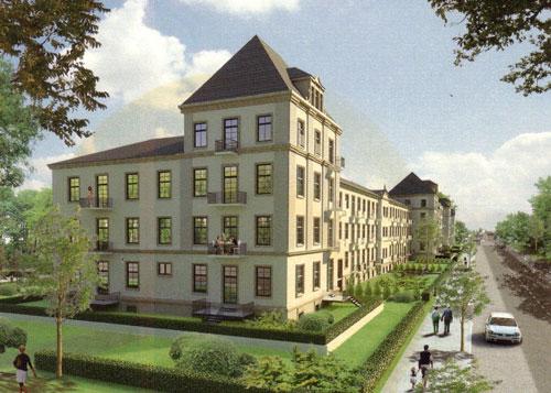 2 Zimmer Wohnung in Dresden (Äußere Neustadt)