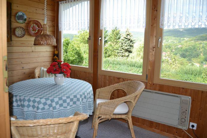2 Wochenendhäuser in ruhiger Lage - Bad Blankenburg - Böhlscheibener Weg - mit Burgblick - Traumhaft !