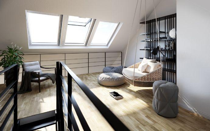 Ins Jahr 2021 mit Blick über Fürth in Ihrer Dachgeschoss Wohnung....