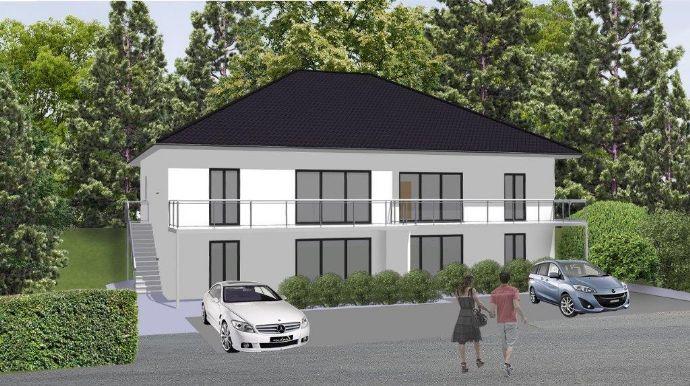 4 moderne Eigentumswohnungen in exklusiver Lage von Porta Westfalica(Hausberge) KfW55 Standard