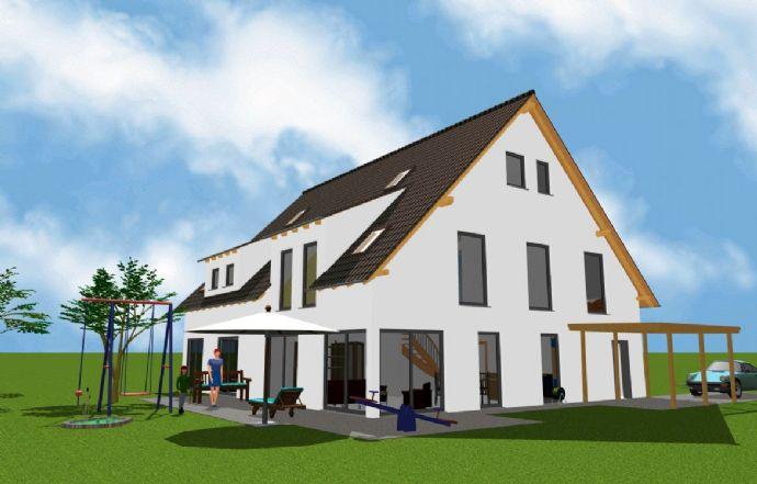 In Vorbereitung - Projektiert - Neubau von DHH (3 Doppelhäuser)