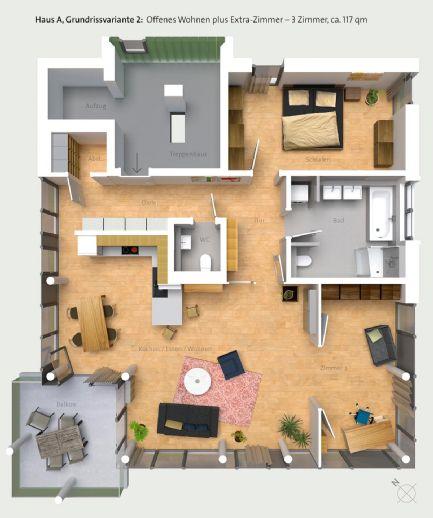 Käufer gesucht für eine wundervolle NEUBAU Wohnung auf 116m² - 1.OG mit Balkon in toller Lage