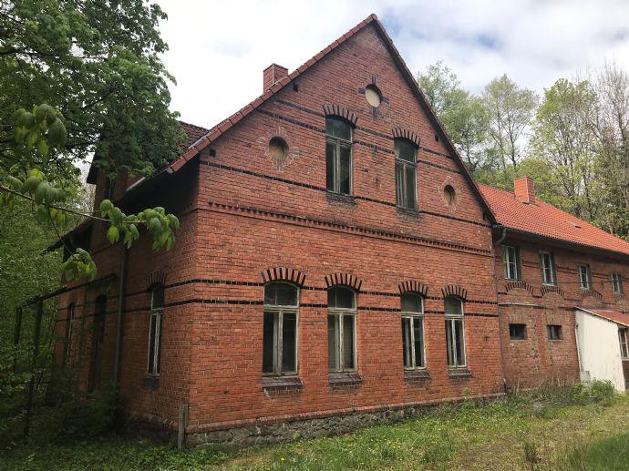 Historisches Gebäude mit Portenzial im Ilfelder Tal.