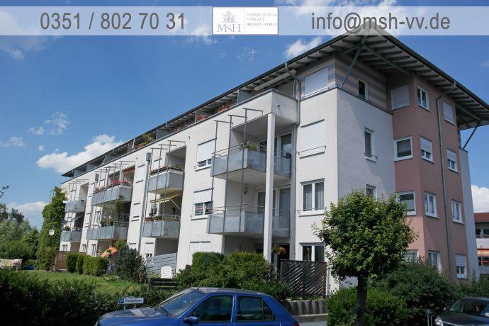1-Zimmer-Wohnung mit Dachterrasse und Einbauküche im DG in verkehrsgünstiger Lage zur TU-Dresden