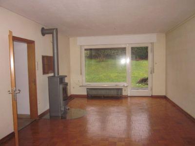 Wohnzimmerblick zur Terrasse