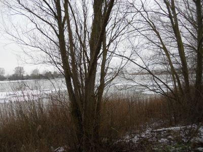 Blick vom nördlichen Ufer