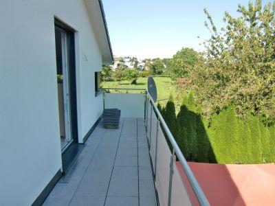 Balkon Blick nach Osten