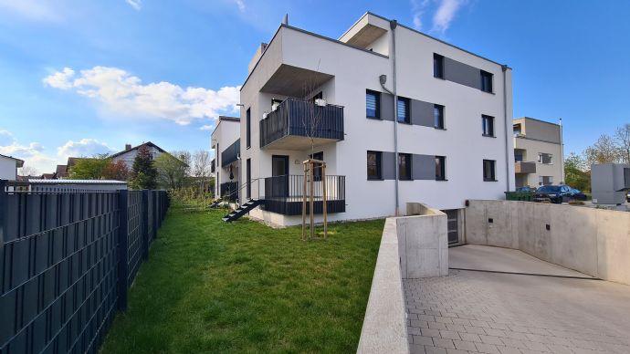 Hochwertige Wohnung mit Balkon/Gartenanteil: Schöne 3-Zi-Whg in Kehl-Kork. Provisionsfrei!
