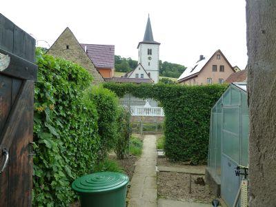 Garten hinter Scheune am Rindbach